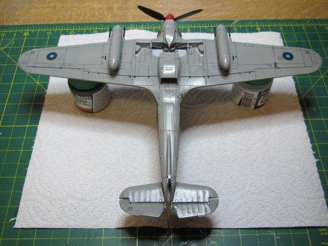 Hawker Hurricane IIC panel lines 2