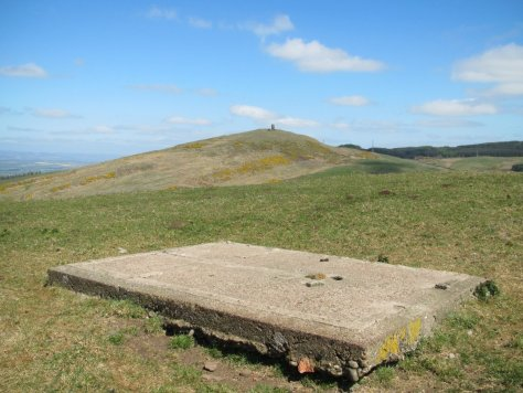 Kinpurney Hill from Hatton Hill