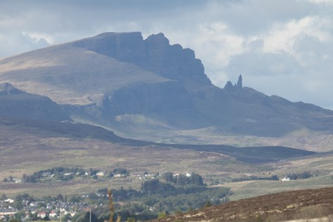 The Storr above Portree, Skye