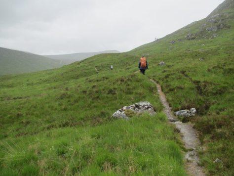 The path to Bealach Cumhann
