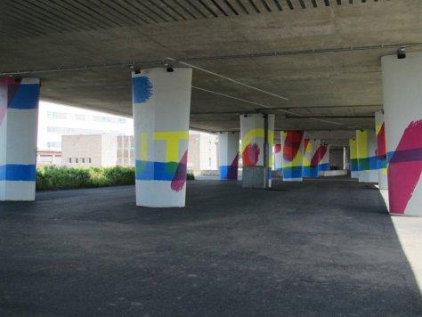 Tay Bridge Mural 1