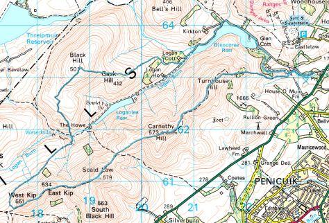 Loganlea circuit route