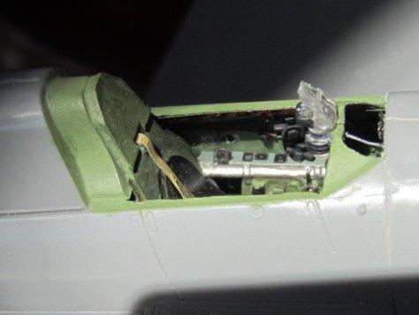 Haseqawa/Eduard Hawker Hurricane cockpit 2