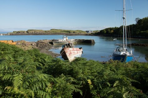 Old harbour, Eigg