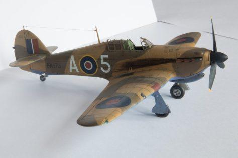 Hasegawa 1/48 Hawker Hurricane IIB (1)