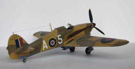 Hasegawa 1/48 Hawker Hurricane IIB (4)