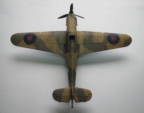 Hasegawa 1/48 Hawker Hurricane IIB (5)