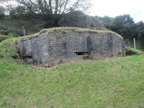 The pillbox at Binn Farm