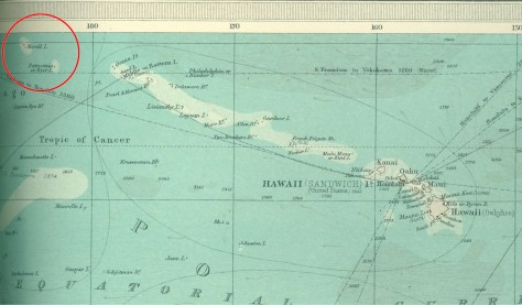 Morrell and Byers Islands in Times Atlas of 1922