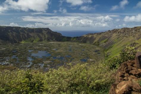 Rano Kau crater, Easter Island