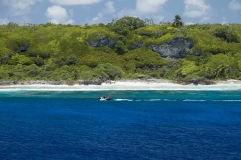 Northwest beach, Henderson Island