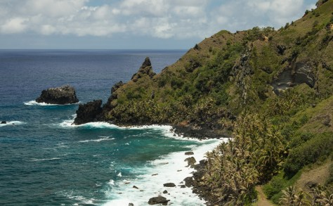 Bounty Bay from The Edge, Pitcairn