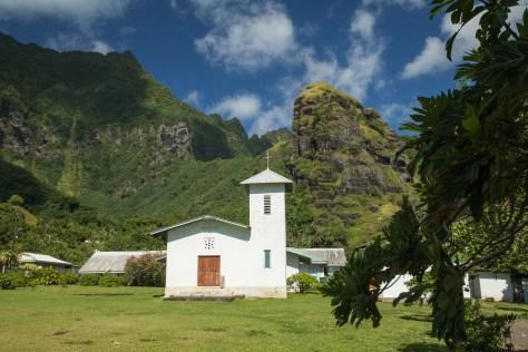 Hana Vave church, Fatu Hiva