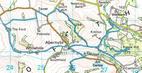 Abernyte route