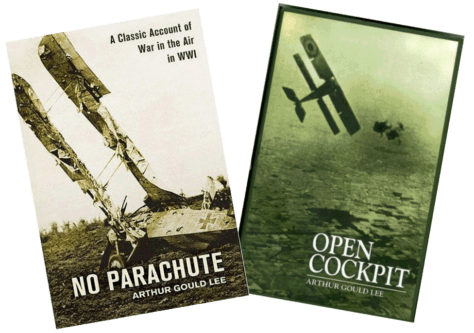 Covers of two books by Arthur Gould Lee