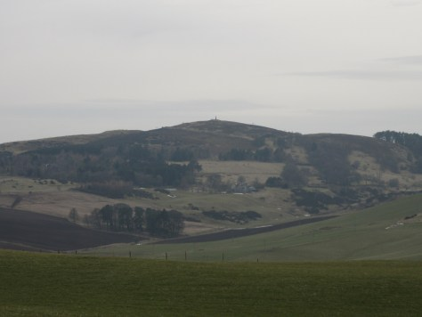 Murrayshall Hill from Pole Hill