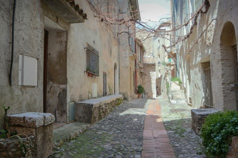 Street, Haut de Cagnes