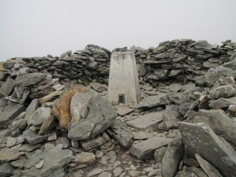 Driesh summit cairn
