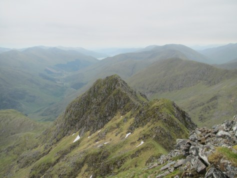 Forcan Ridge from above