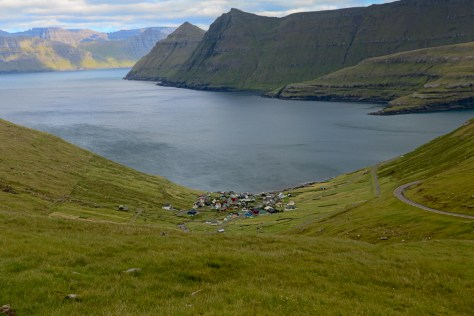 Village of Funningur and the Funningsfjørður