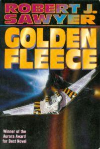 Cover of Golden Fleece by Robert J. Sawyer