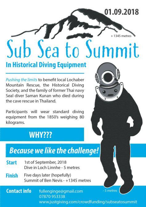 Sub Sea to Summit poster