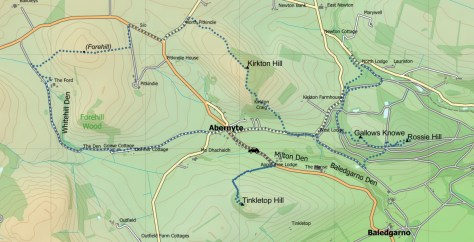 Abernyte route