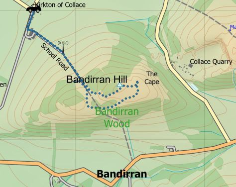 Bandirran route