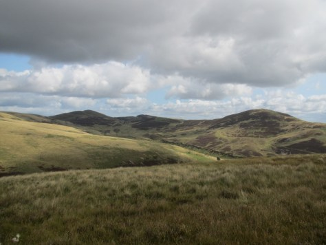Valley of the Kirk Burn from Bell's Hill