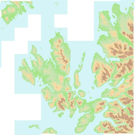 OS OpenData Terrain 50 NG tidal water blue