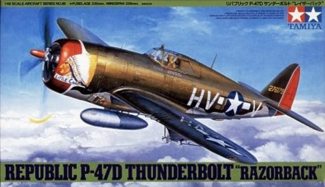 Tamiya 1/48 P-47D Razorback