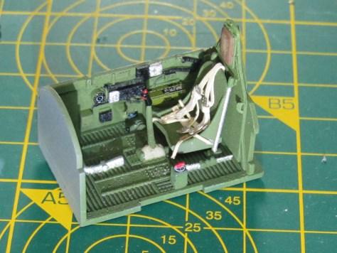 Tamiya P-47D cockpit 3