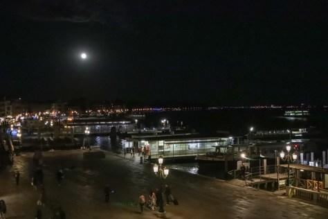 Full moon over Venice