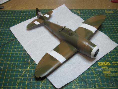 Tamiya 1/48 Thunderbolt, SEAC colours