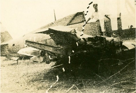 Crash of HB981, May 1945