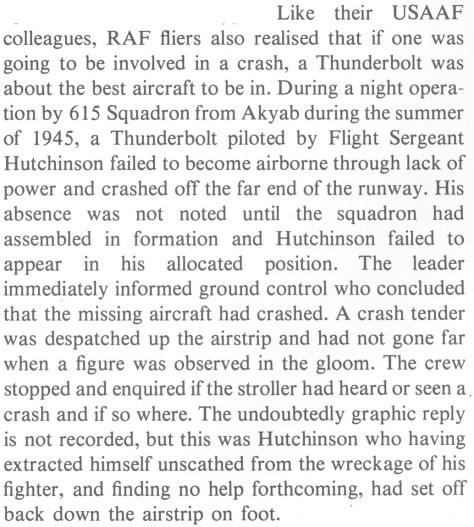 Roger Freeman, Thunderbolt: A Documentary History Of The Republic P-47, p77