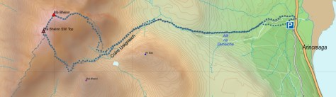 Blaven route