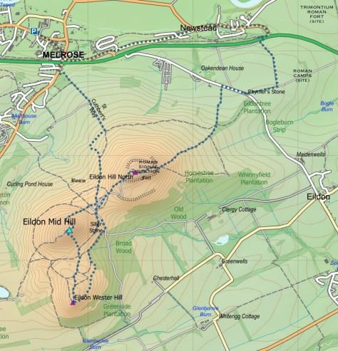 Eildon route