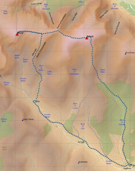 Prosen route