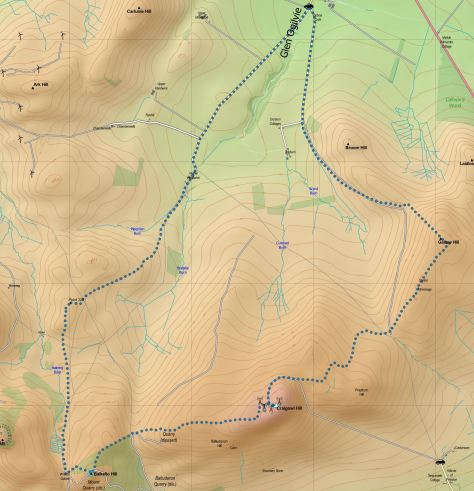Ogilvie route
