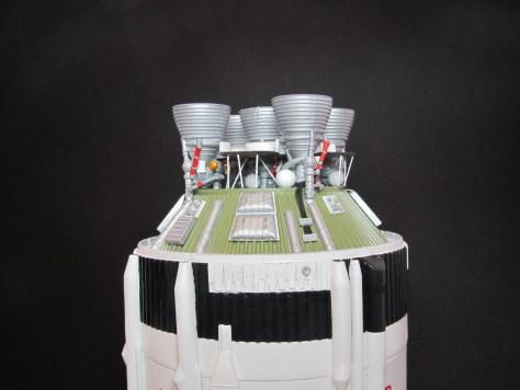 Revell 1/96 Saturn V S-II aft assembly 1