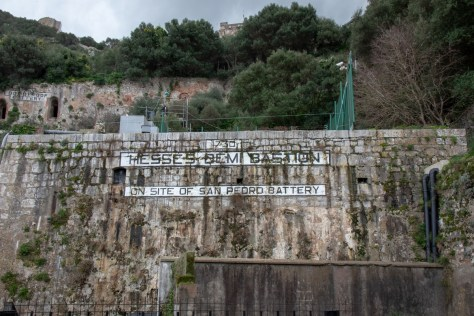 Eighteenth century fortifications, Gibraltar