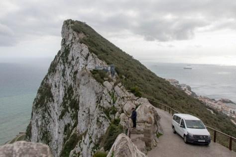 Upper Rock road, Gibraltar