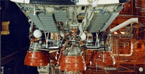 Apollo 6 S-II heat shield