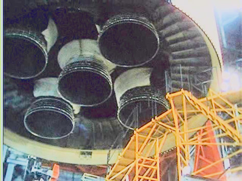 Apollo 13 S-II heat shield