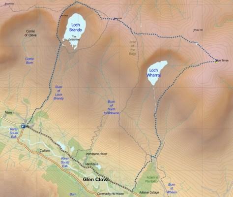 Brandy-Wharral route