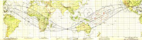 Apollo 11 Earth Orbit chart