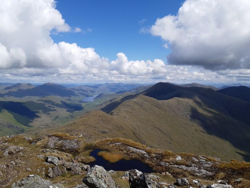 The Coireachan-Thuilm ridge