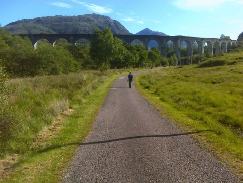Glenfinnan viaduct from the north