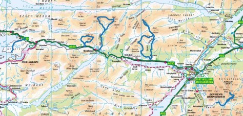 Fassfern routes overview